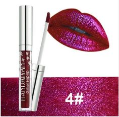 Dazzle them with your lips! This liquid lipstick is a glimmering addition to your cosmetics collection. If you're not 100% satisfied with Maizy cosmetics, return them, no questions asked, for a full refund. FREE US Shipping! LIQUID WEIGHT: 4 ml Lipstick Pencil, Glitter Lipstick, Glitter Makeup, Makeup Lipstick, Makeup Cosmetics, Liquid Eyeshadow, Matte Eyeshadow, Long Lasting Lip Gloss, Eyeliner Tattoo