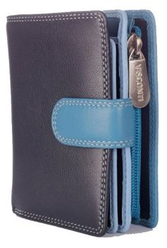 Visconti RB40 Multi Colored Small Soft Leather Ladies Wallet  Purse