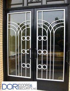 Custom Ironwork Front Building Door Gate. www.doridoors.com #doridoors #ironwork #NYC