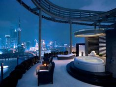 Shanghai, China Hyatt on the Bund Hotel - yes please! facebook.com