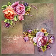 "Moonbeam's ""English Roses"" - Click Image to Close"