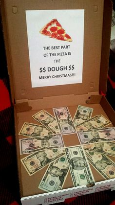 This Was A Creative Way Of Giving Money To My Sons For Christmas