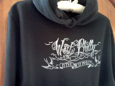 """""""West Philly is the Best Philly"""" hoodie by VIX Emporium"""
