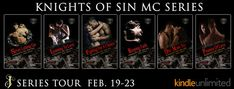 Abibliophobia Anonymous                 Book Reviews: **SERIES TOUR**  Knights Of Sin MC Series by Erin ...
