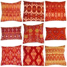 Tangerine Tango pillows