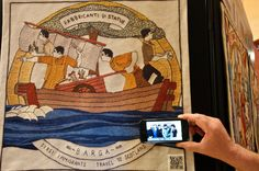 The launch of the Scottish Diaspora Tapestry took place in the Prestonpans Community Centre, Scotland this Saturday 31st May. It was attended by 200 invited guests many of whom wore national dress. The invited guests included stitchers and representatives of the 25 nations, from all five continents which were depicted in the tapestry. The opening speech […]