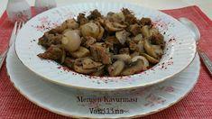 Kahvaltılık kuru domates | Vanilins Stuffed Mushrooms, Pasta, Vegetables, Food, Best Recipes, Bulgur, Easy Meals, Stuff Mushrooms, Essen