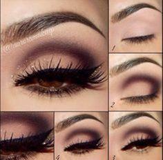 Eye Makeup Tips.Smokey Eye Makeup Tips - For a Catchy and Impressive Look Gorgeous Makeup, Pretty Makeup, Love Makeup, Makeup Tips, Makeup Ideas, Makeup Tutorials, Glamorous Makeup, Makeup Trends, Dramatic Makeup