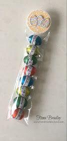 Easter Egg bags - Basket Builder bundle - Stampin' Up! - Fiona Bradley
