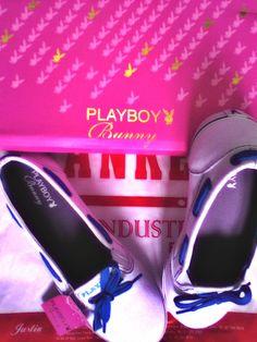 Flat Shoes #Playboy #Bunny #PlayboyBunny #Shoes