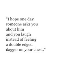 Dagger in your chest.