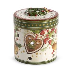 Villeroy & Boch Christmas Market Small Round Gift Box