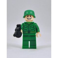 Yea, pretty much any lego army guy, set, toy....whatever!