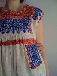 Isabel Marant - Embroidered Euro-folk top
