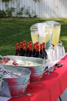how to do self serve wine