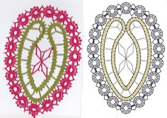Bobbin Lace Patterns, Lace Heart, Lace Jewelry, Lace Detail, Projects To Try, Butterfly, Diy, Food Cakes, Easter Eggs
