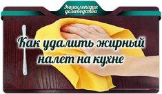 Как удалить жирный налет на кухне Cleaning, Homemade, Motivation, Routine, House, Women's Fashion, Household, Fashion Women