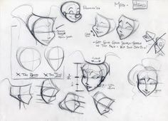 Living Lines Library: Hercules (1997) - Model Sheets & Production Drawings