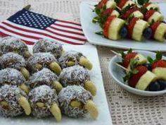Raw Food Recipe: Patriotic Bird Bites and Poppers