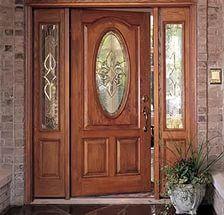 Даже если ваш дом или коттедж построен по типовому проекту, оформлению вход...