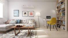 INTERIOR VA — прекрасная светлая и уютная квартира в Санкт-Петербурге для молодой пары. Разработчиком проекта для квартиры площадью 60 квадратных метров стала студия INT2architecture.