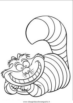 How to Draw Cheshire Cat Easy, Step by Step, Disney