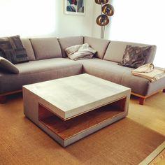 BETONEN Möbel / Angulus Design, Furniture, Home Decor, Upholstered Stool, Textiles, Handmade, Timber Wood, Decoration Home, Room Decor