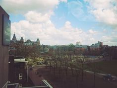 Amsterdam The view from Van Gogh museum
