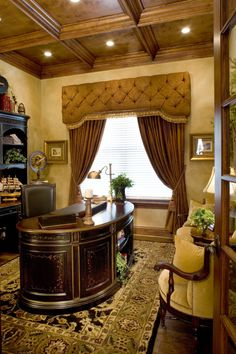 Cornice boards on pinterest cornices valances and for Old world window treatments