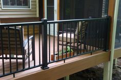 100 Series Aluminum Railing by Afco