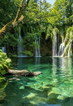 10 Days in Croatia: The Perfect Croatia Itinerary Places to travel 2019 Plitvice Lakes National Park in Croatia. Plitvice Lakes National Park is a must add to your Croatia itinerary. Nature Aesthetic, Travel Aesthetic, Beautiful Waterfalls, Beautiful Landscapes, Fantasy Art Landscapes, Beautiful Nature Photography, Beautiful Places To Travel, Cool Places To Visit, Romantic Travel
