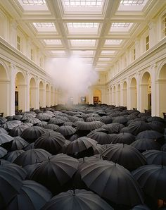 """""""When on a winter's Night a Traveller"""" installation art by Metej Andraz Vogrincic"""