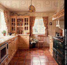 terracotta floor tile kitchen | terracotta floor tiles in yellow