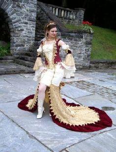 fantasy wedding gown