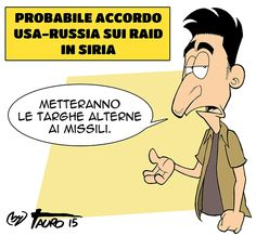 #‎IoSeguoItalianComics‬ #Satira #Usa #Russia #Syria  #societa