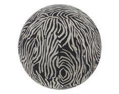 Yoga Ball Cover, Exercise Ball Cover, Fair Trade - Zebra stripe
