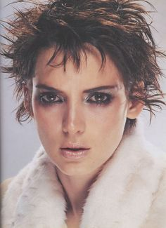 Winona Ryder as Siouxsie Sioux An homage to the Banshees front woman.