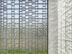 never seen glass blocks look this beautiful.