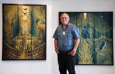 Robin Slow – Kura Gallery: Maori and New Zealand Art + Design. Dark Mask, New Zealand Art, Nz Art, Maori Art, Art Carved, Ice Sculptures, Indigenous Art, Wedding Art, Animal Tattoos