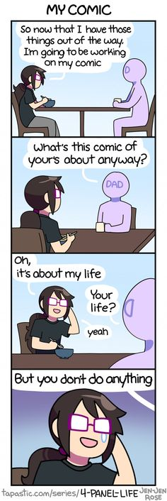 4-Panel Life :: MY COMIC | Tapastic Comics - image 1