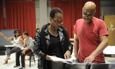 Regina Taylor in Crowns rehearsals  http://www.goodmantheatre.org/season/Crowns/