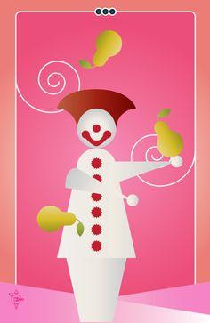 Noo Spinoolean Tarot - Three of Pears