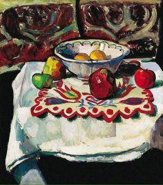 Still life , 1905 by Robert Bereny; 1887_1953
