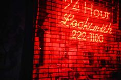 Plz repin and spread 24 Hour Locksmith, Neon Signs, Random, Casual