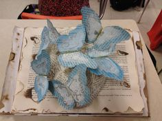 How words can defeat an ism through an art form The Book Thief, Altered Books, Art Forms, Cool Words, Altered Book Art