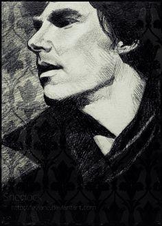 SH by ~Feyjane on deviantART #Sherlock