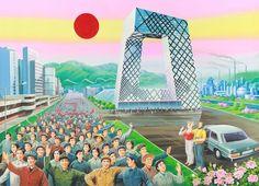 'The Beautiful Future' dipinti che immaginano il futuro maoista