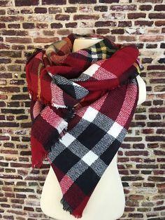 Let's Get Cozy Blanket Scarf – URBAN MAX LLC
