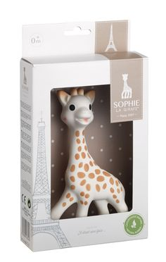 Vulli 616400 Sophie The Giraffe La Baby Natural Rubber Teether Toy for sale online Sophie Giraffe, Tour Eiffel, Baby Sense, Baby Teethers, Teething Toys, Natural Rubber, First Baby, Baby Registry, Brother