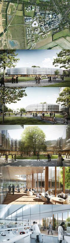 Global R&D Centre and Corporate Headquarters design for AstraZeneca unveiled. Cambridge UK.